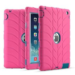 iPad 4 Case,iPad 3 Case,iPad 2 Case, UZER Tire Pattern Shock