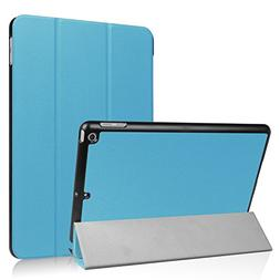 New iPad 9.7 2018 / 2017 Case, Ratesell Slim Fit Auto Wake /