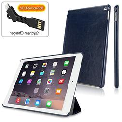 iPad Air 2 Case, BoxWave  - Durable Folio Cover to Activate