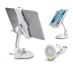 AboveTEK iPad Suction Cup Holder Tablet Stand, Large Sticky