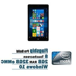 NuVision 8-inch Full HD  IPS Touchscreen Tablet PC, Intel At