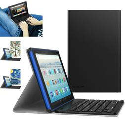 MoKo Amazon Fire HD 10 Tablet  Wireless Keyboard Cover New