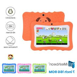 """Kids 7"""" Tablet PC 16GB Android6.0 Wifi Quad Core Educational"""