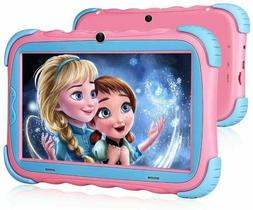 "Kids Android Tablet Pad 7"" IPS Eye Friendly 16GB 2 Cameras P"