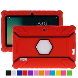 Turpro Kids' Shockproof Silicone Case for Chromo Inc 7 inch,