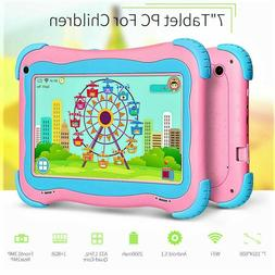 Yuntab Kids Tablet 7 In Android WiFi New 8GB 32GB Playtime E