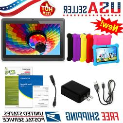 """Kids Tablet PC 7"""" Android 4.4 Dual Camera 1.3Ghz Wi-Fi with"""