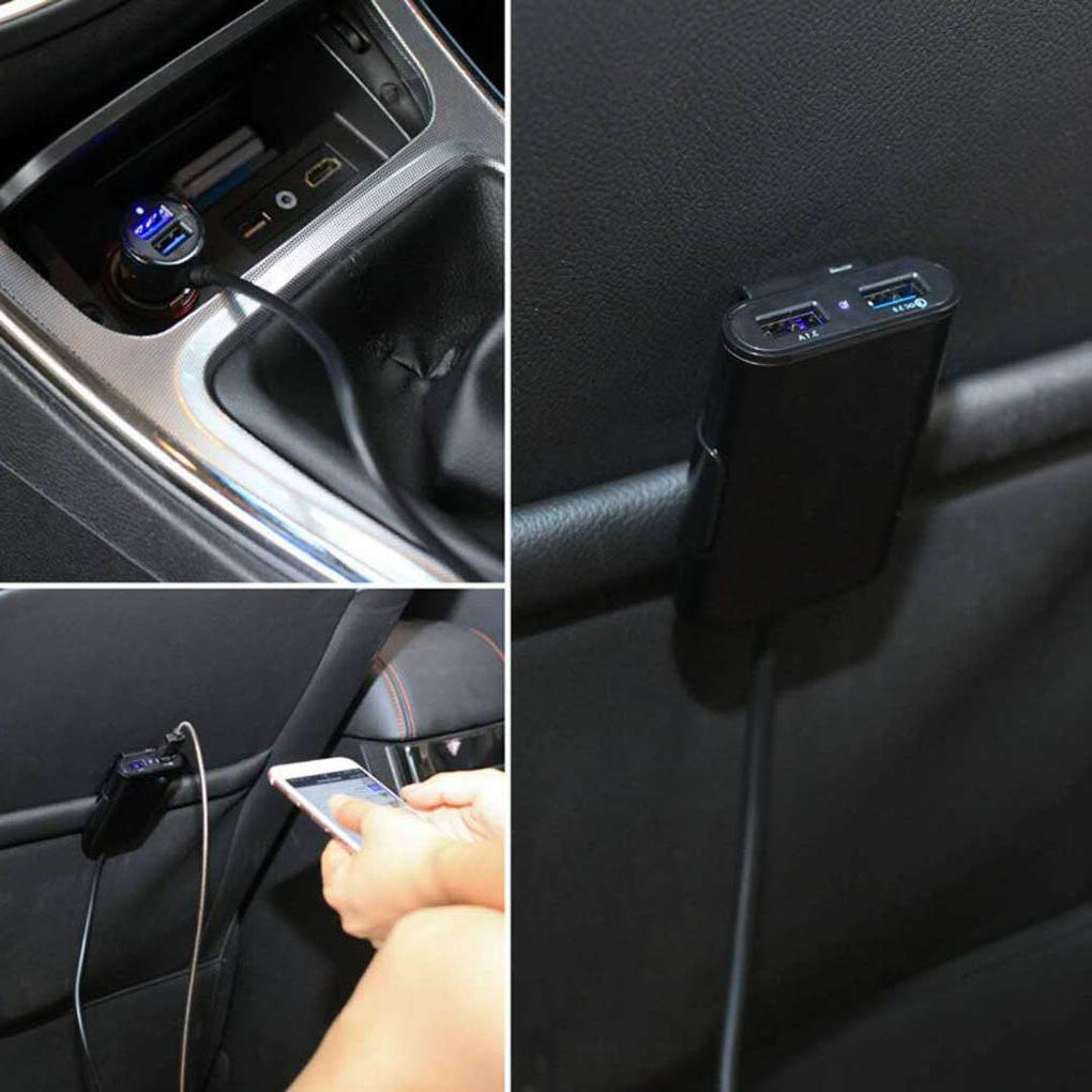 1.7m Extension Cable Cord 3.0 Fast Car Phone Charger 4 <font