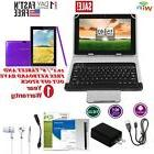 "10.1"" 2-in-1 Laptop Tablet Kit & Keyboard Bundle Android Blu"