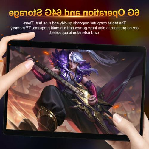 """10.1"""" 6+64G HD Tablet Computer Core Android Wifi Camera"""