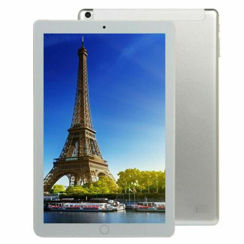 "10.1""Inch Tablet PC Android 9.0 64GB 10 WIFI Phablet 4G"