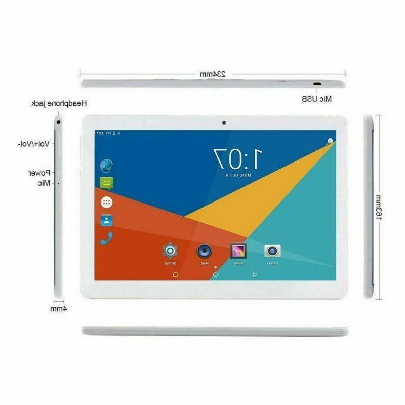 """10.1"""" Tablet Computer Laptop Android 8.1 Ten Core Color"""