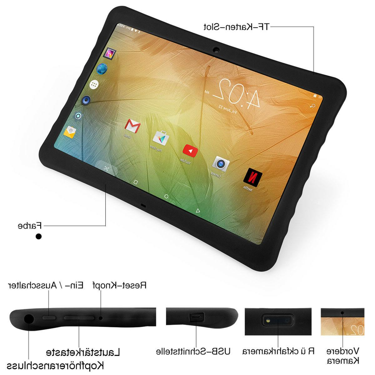 10.1'' Google Tablet PC Android 7.0 Quad Core Dual Camera Wifi