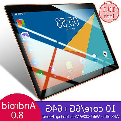 10.1 Inch 6g+64g Tablet PC Computer Dual