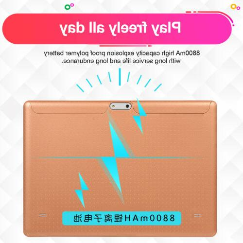 10.1 Inch 4G-LTE Game 8.0 8+128GB GPS