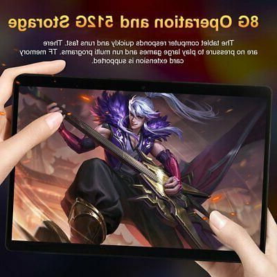 "10.1"" Tablet Android 8.0 8+512GB Core"