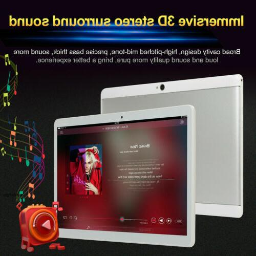 "10.1"" Google Tablet PC Android 7.0 Quad Core 10 Inch HD WIFI"
