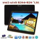 """10.1"""" Tablet PC 64G Android 6.0 Octa-Core Dual SIM & Camera"""
