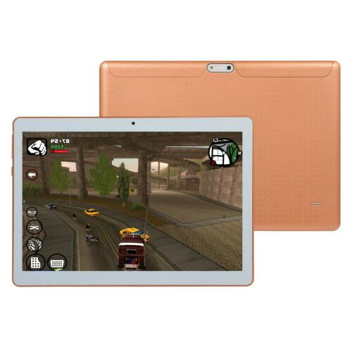 10 Game Tablet Core Android 8.0 3G Camera