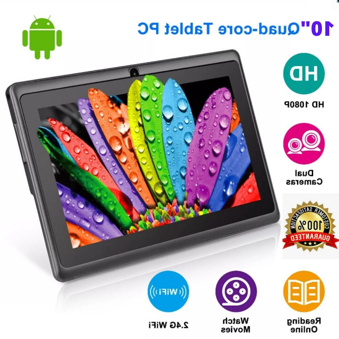 "10"" Inch Android Quad Core HD WiFi"