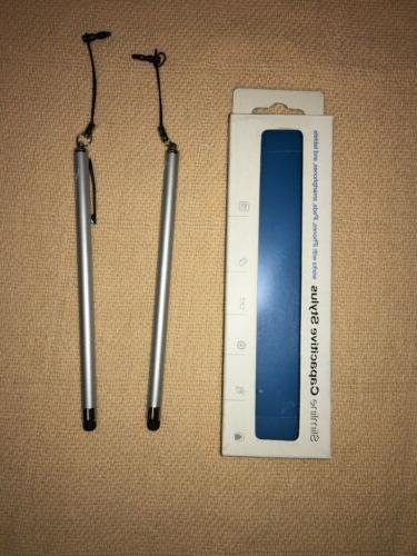 2 capacitive stylus for iphones ipads smartphones