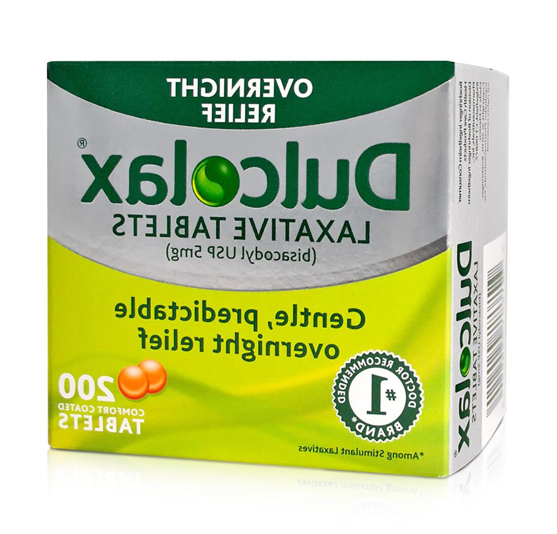 200 Dulcolax Laxative Tablets , BNIB and Sealed, EXP 03/2021