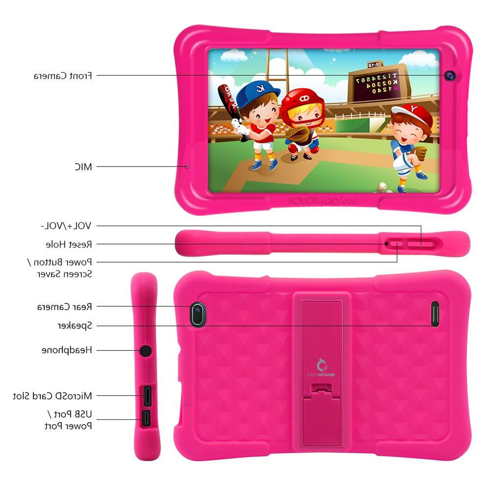 2019 <font><b>Dragon</b></font> Y80 Kids <font><b>Tablet</b></font> HD Display Android for core USB 8.1 <font><b>tablet</b></font>