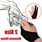 2Pcs Two Finger Anti-fouling Glove Drawing & Pen Graphic Tab