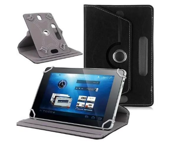 360° Folio Leather Case Cover For Universal Android Tablet