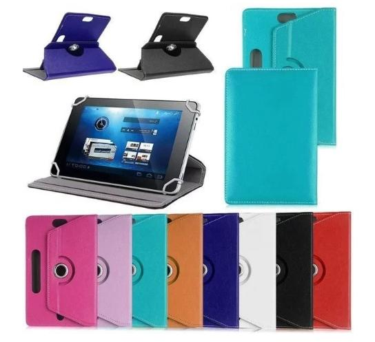 360 folio leather case cover for universal