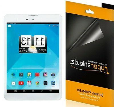 3x clear screen protector shield for trio