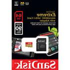 Sandisk 64G Micro Extreme 4K UHS2 SD card for LG G Pad 8.0 F
