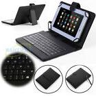 "For 7""-10.1"" Android Tablets Universal USB Micro Keyboard Fl"