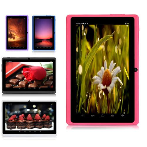 "iRULU 7"" Android 6.0 Tablet PC A33 Quad Core 8GB Multi Color"