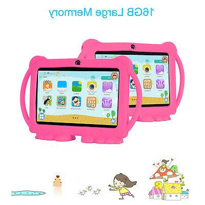 "XGODY 7"" 16GB Core Kids Tablet Dual"