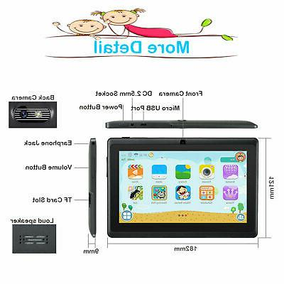 7'' Inch 16GB Tablet PC Dual Camera Bundle Case