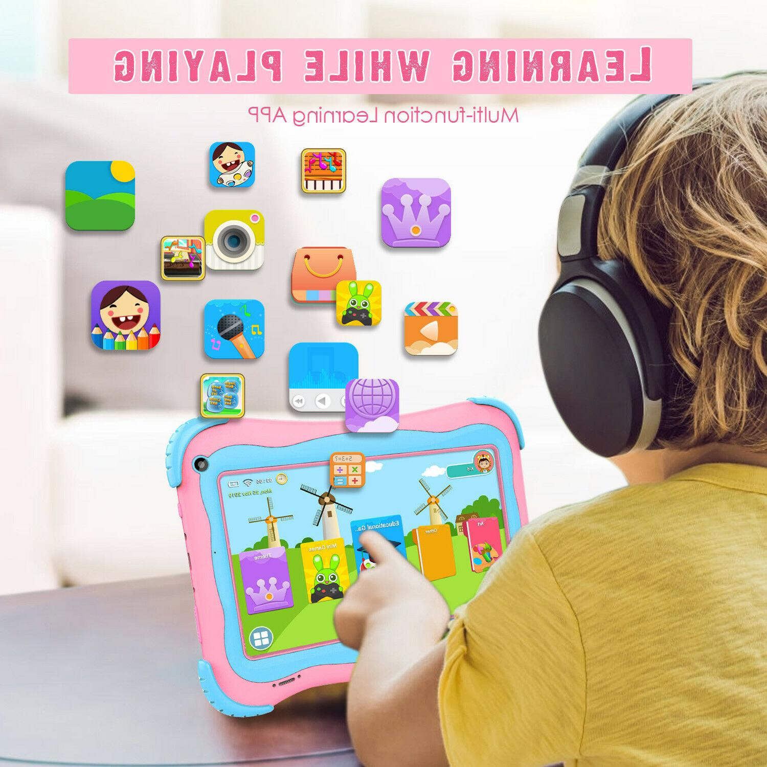 7'' Kids Tablet PC Android 8.1 Quad Core WiFi
