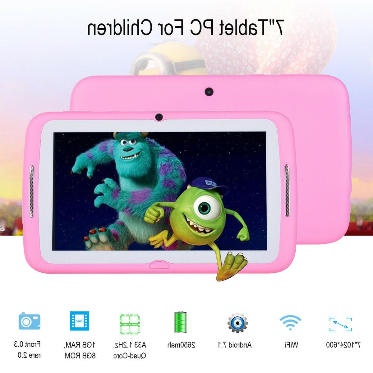 7'' Inch PC Android Dual Camera WiFi 8GB Kids Proof