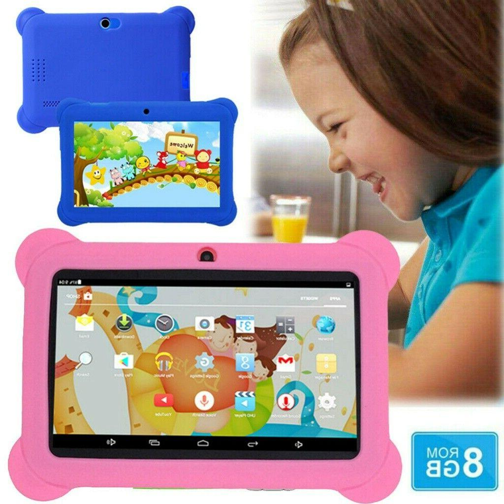 7 kids tablet android quad core 8gb