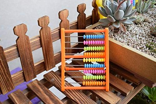 TomTomPro 9 Rods Soroban Toys Calculating Math Abacus Educational for Children