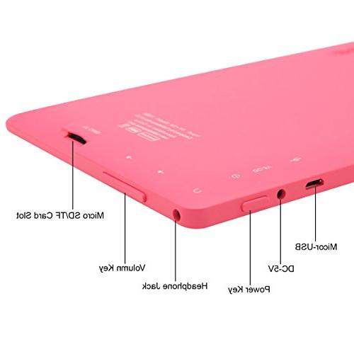 Dragon Touch Y88X, Android Tablet, 8 GB, Pink