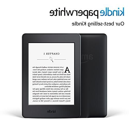 """Kindle Paperwhite E-reader Black, 6"""" with Built-in Light, Wi-Fi - Includes Special"""