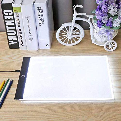 Graphic Tablets LED Light Box Pad Electronic Tracing Art Writing