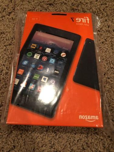 "All-New Amazon Fire 7 Tablet with Alexa, 7"" Display, 8 GB, B"