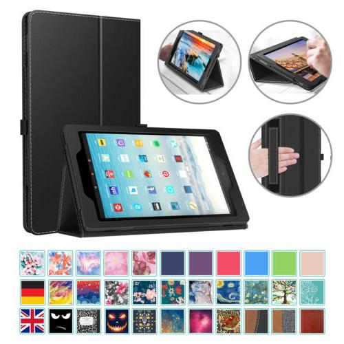 MoKo For Amazon Fire HD 10 9th 2019 / 7th Smart Leather Stan