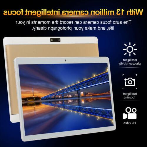 Android 10.1 Tablet GPS Wifi Dual Camera