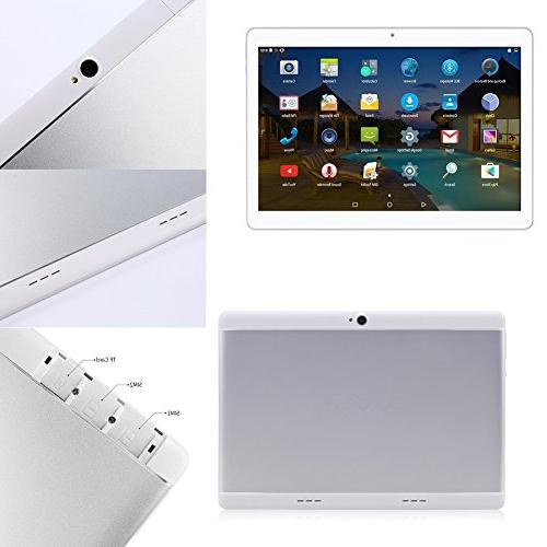 Android with Sim Card YELLYOUTH inch Core ROM 3G GSM Call WiFi Bluetooth Silver