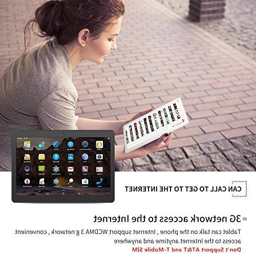 Android Tablet with Sim YELLYOUTH Octa Core RAM ROM Tablet PC GSM GPS WiFi