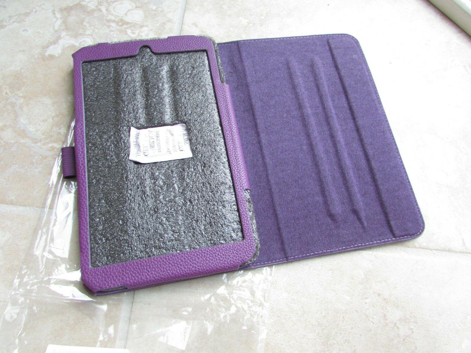 ProCase 8 Me181c Tablet Leather Case Purple