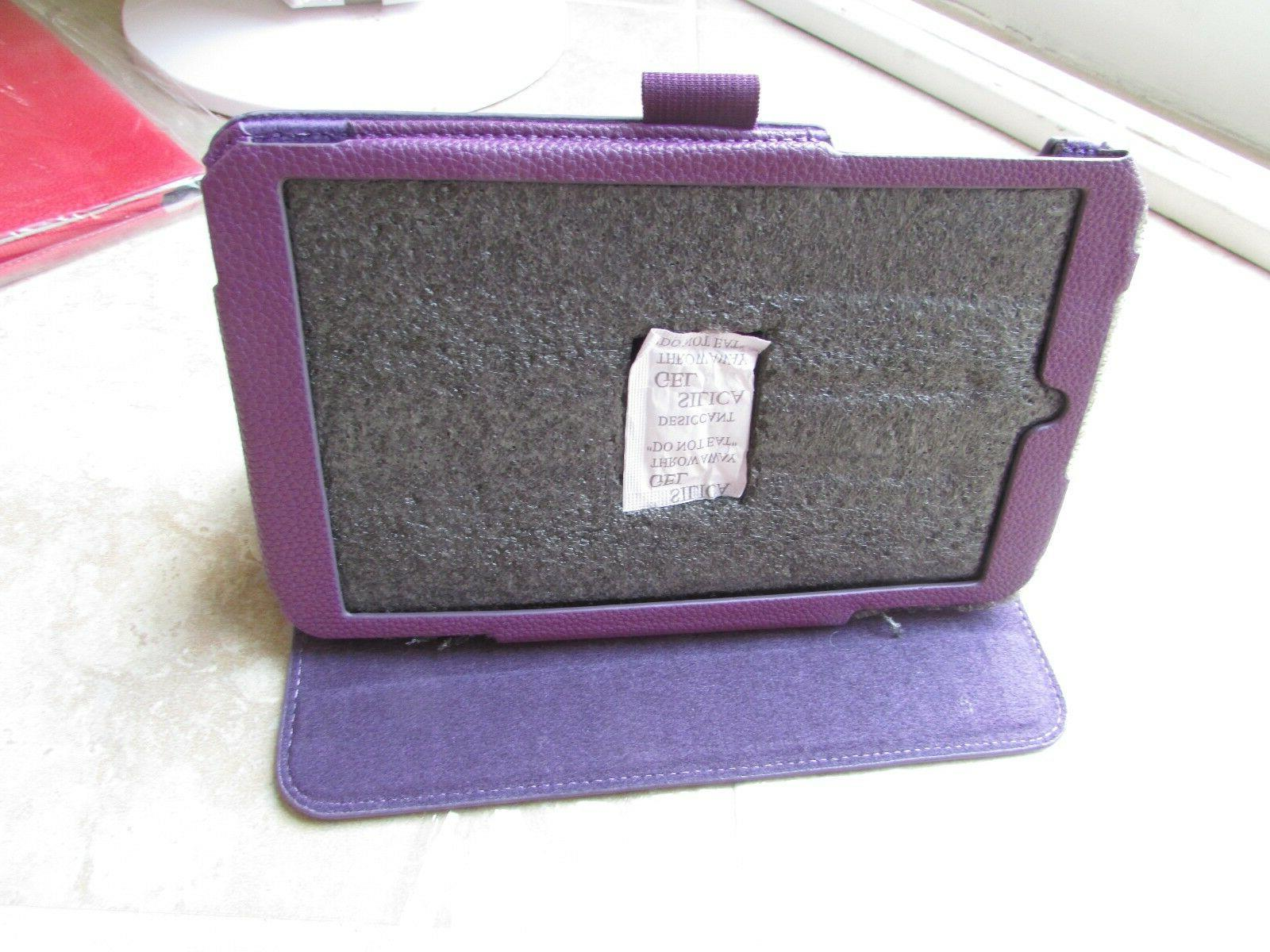 ProCase Asus MeMOPad Me181c Tablet Book Leather Folio Purple